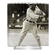 Shoeless Joe Jackson  (1889-1991) Shower Curtain