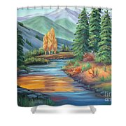 Sierra Creek Shower Curtain