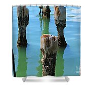 Signs Of Time Shower Curtain