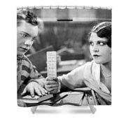 Silent Film Still: School Shower Curtain