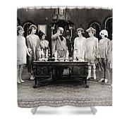 Silent Still: Showgirls Shower Curtain