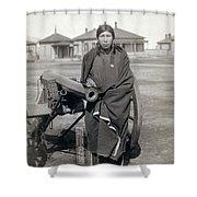 Sioux Warrior, 1891 Shower Curtain