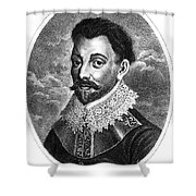 Sir Francis Drake, English Explorer Shower Curtain