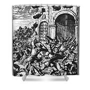 Sir Henry Morgan Shower Curtain