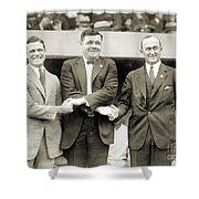 Sisler, Ruth & Cobb, 1924 Shower Curtain