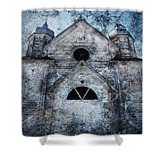 Skies And Stones  Shower Curtain
