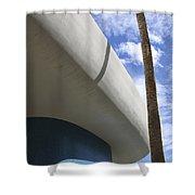Sky Blue Shower Curtain