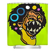 Smile For Luck  Shower Curtain