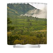 Snowbasin Utah Shower Curtain