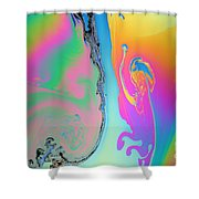 Soap Film Shower Curtain