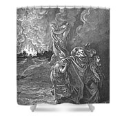 Sodom & Gomorrah Shower Curtain
