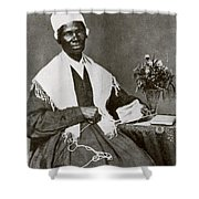 Sojourner Truth, African-american Shower Curtain by Photo Researchers