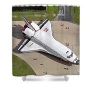 Space Shuttle Atlantis Shower Curtain