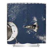 Space Shuttle Endeavour, A Russian Shower Curtain
