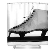 Speed Skate Shower Curtain