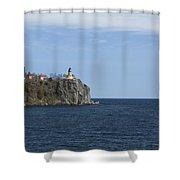 Split Rock Lighthouse 82 Shower Curtain