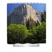 Spring Views Of El Capitan Shower Curtain