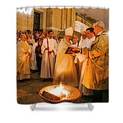 St James Cathedral Shower Curtain