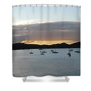 St. Thomas Sunset Shower Curtain