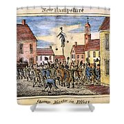 Stamp Act: Protest, 1765 Shower Curtain