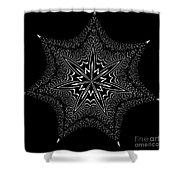 Star Fish Kaleidoscope Shower Curtain