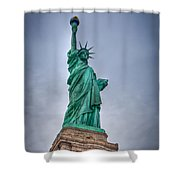 Staute Of Liberty Shower Curtain