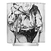 Stephen Arnold Douglas Shower Curtain