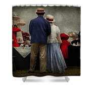 Store - The Hat Stand  Shower Curtain