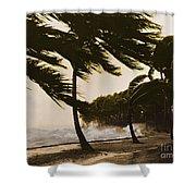 Storm Surge Shower Curtain