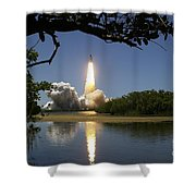 Sts-121 Launch Shower Curtain