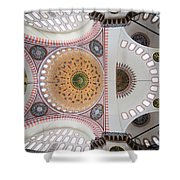 Suleymaniye Mosque Ceiling Shower Curtain