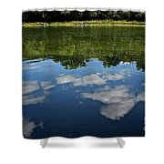 Summer's Reflections Shower Curtain