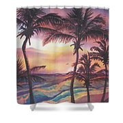 Sunrise At Cattlewash 2 Shower Curtain