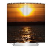 Sunrise On Seneca Lake Shower Curtain