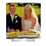 T And T 39 Shower Curtain