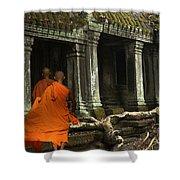 Ta Prohm Cambodia Shower Curtain