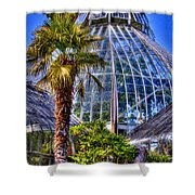 Tacoma Botanical Conservatory Shower Curtain