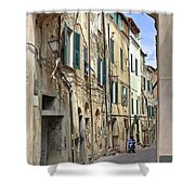 Taggia In Liguria Shower Curtain