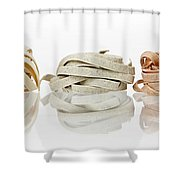 Tagliatelle Shower Curtain