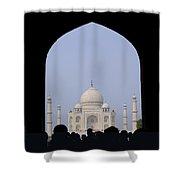 Taj Mahal, Agra India Shower Curtain