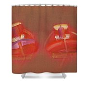 Tavira Boats Shower Curtain