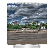 Tenby North Beach Shower Curtain