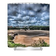Tenby Pembrokeshire Shower Curtain