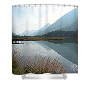 Tern Lake Shower Curtain