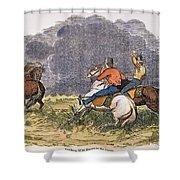 Texas Cowboys, C1850 Shower Curtain