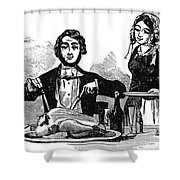 Thanksgiving, 19th Century Shower Curtain