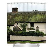 Thatched Cottage Shower Curtain