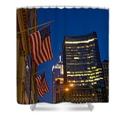 The American Flag Shower Curtain
