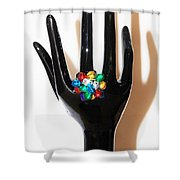 The Arm And Hand  Shower Curtain