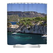 The Calanques Shower Curtain